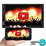 Woodman Wow2 MP5 Touch Screen Car Music System Car Stereo with Mirror Link