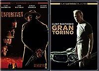 Clint Eastwood Gran Torino & Unforgiven 2 Disc DVD Pack Movie Set