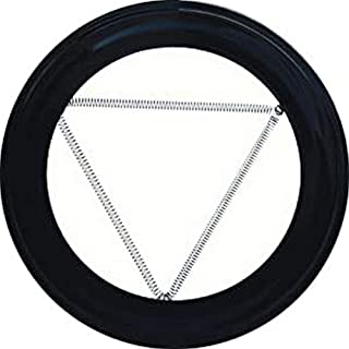 WOLFPACK LINEA PROFESIONAL 22010910 Plafón Embellecedor de Color Negro Para Estufa 120mm
