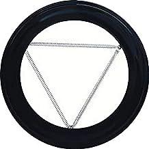 WOLFPACK LINEA PROFESIONAL 22010915 Plafón Embellecedor de Color Negro para Estufa 150 mm