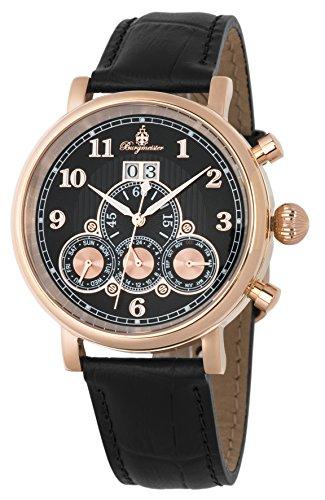 Burgmeister Herren analog Automatik Uhr BM338-322