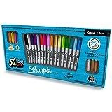 Sharpie 1926406 - Paquete de 23 rotuladores permanentes, multicolor