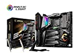 MSI MEG Z390 GODLIKE - Placa base Entusiasta (LGA 1151, 4 x PCI-E x16, M.2 SHIELD FROZR, 6 x USB 3.1 Gen2, Wireless-AC 1550, Xtreme Audio DAC, Core Boost)