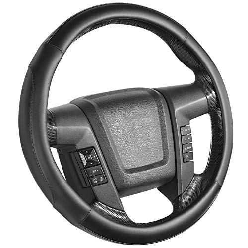 SEG Direct Car Steering Wheel Cover Large-Size for F150 F250 F350...