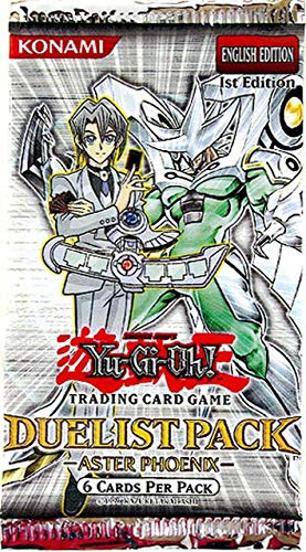 YuGiOh GX Card Game Aster Phoenix Duelist Pack Booster Pack