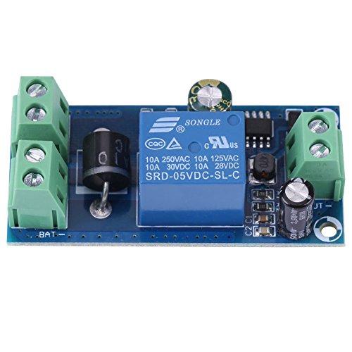 DC Backup Batterie Schalt Modul, 5V ~ 48V 10A Batterie, die Automatischen Schalter Adapter Auflädt, Notstrom Versorgung Steuer Modul