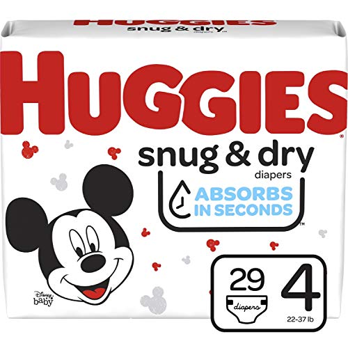 Price comparison product image Huggies Snug & Dry Baby Diapers,  Size 4,  29 Ct