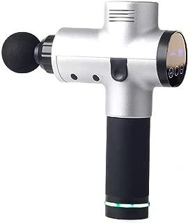 RUIXFMG Lightweight Deep Muscle Fascia Massage Gun Hd Touch Screen Relieve Muscle Tension, Improve Blood Circulation 4 Massage Head Ultra-Quiet