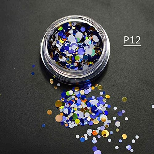 Gabcus 67% OFF of fixed price 1g Bottle Mixed Indefinitely 1-3mm 3D Thin Art Round Nail Mini Sparkly
