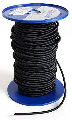 (1.20EUR pro m) Gummileine für SUP black