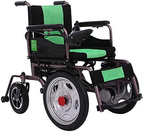 Qianqiusui Tragbare elektrische Rollstühle, behinderte und ältere motorisierte Roller, 20A Lithium-Batterie, 24-Zoll-Räder, die am längsten laufende 20km