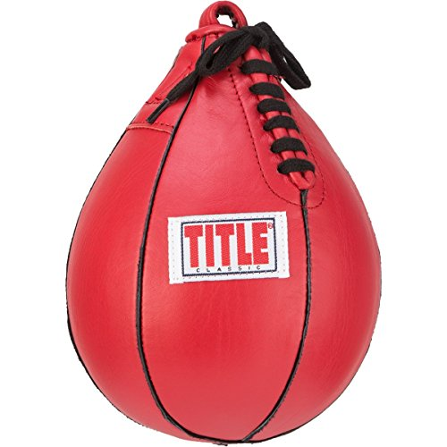 "Title Classic Speed Bag, Red, 6"" x 9"""