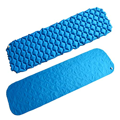 WRF Coussin Gonflable Automatique, Portable Honeycomb Nest Egg Tray Cushion Moisture-Proof and Wear-Resistant, Suitable for Outdoor/Camping/Travel