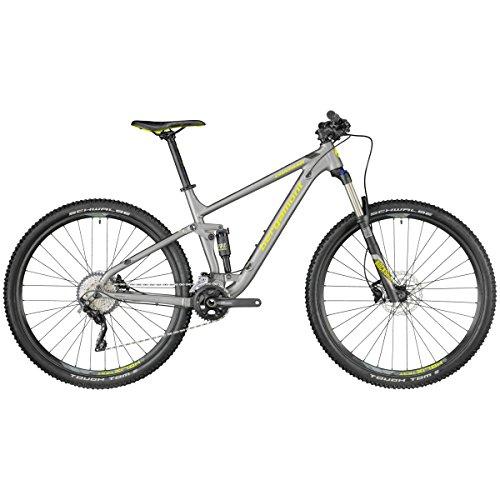 Bergamont Contrail 5.0 MTB 29'' Bicicletta Grigio/Giallo 2018: Taglia: L (176-183cm)