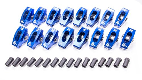 Scorpion Performance 1018 1.6 Ratio Roller Rocker Arm for Small Block Ford - Pack of 16