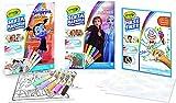CRAYOLA Color Wonder - Kit Senza Macchia: Frozen2, Vampirina, Album Ricarica da 30pgg, attività Creativa da casa, età 3,4,5 Anni
