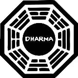 "4"" Dharma Initiative Lost Decal Sticker Trailer Truck Car Tv Show"