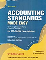 Accounting Standards Made Easy for CA Inter (New Syllabus) 12th Edition, 2020