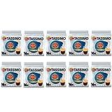 Tassimo Marcilla Café descafeinado Cápsulas de café- 10 paquetes (160 bebidas)