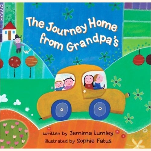 Journey Home from Grandpa's audiobook cover art