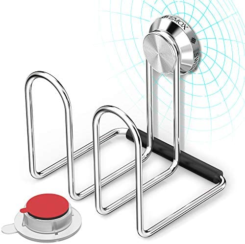 SWEMOX Magnetic Sponge Holder Instant Pop On Pop Off Detachable Full Stainless Steel Unobstrusive product image
