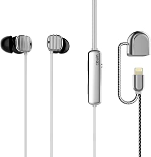 COWIN HE16 Active Noise Cancelling Headphones, Wired Earbuds in-Ear Stereo Awareness Monitor Earphones with Microphone, Compatible with Apple Devices