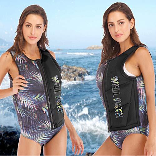 Q-YR Chaleco Salvavidas Profesional Sports Agua Adulto Flotabilidad Chaleco Portátil Seguridad para Nadar Snorkeling Resistencia A La Inundación,D,M