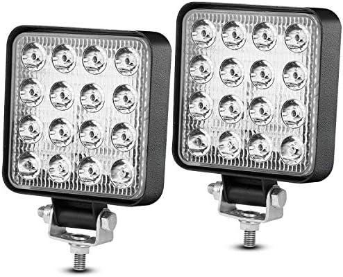 4 LED Pods Light Bar MIHAZ 48W Fog Lights Offroad Work Light LED Cube Lights for Truck ATV Pickup product image