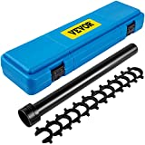 VEVOR Inner Tie Rod Tool Kit, 13 Pcs Tie Rod Removal Tool, 13 Pcs Crowfoot Adapters Inner Tie Rod Tool Set, 1/2 Inch Drive Tube Tie Rods Tool, Heavy-Duty Steel Inner Tie Rod Removal Tool for Vehicle