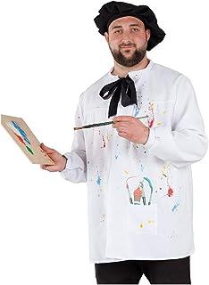 DISBACANAL Disfraz de Pintor Adulto - -, XL