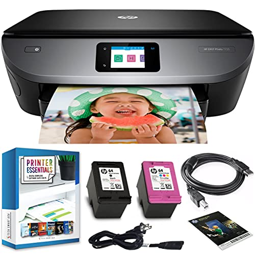 HP Envy Photo 7155 All in One Photo Printer with Wireless ...