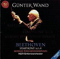 Beethoven : Symphony No 4 / Mozart : Posthorn Serenade