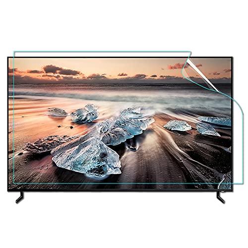 WUK Anti-Blue Light TV de 39-65 Pulgadas Pantalla de Cristal líquido Película Protectora LCD antideslumbrante Pantallas Curvas y Rectas Monitor Pantalla de protección Ocular