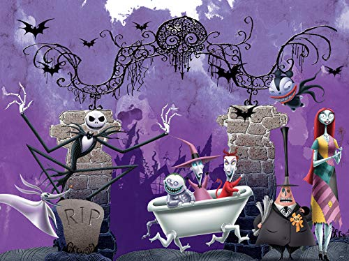 Ceaco Disney - Tim Burton's The Nightmare Before Christmas Bathtime Ghouls Jigsaw Puzzle, 300 Pieces