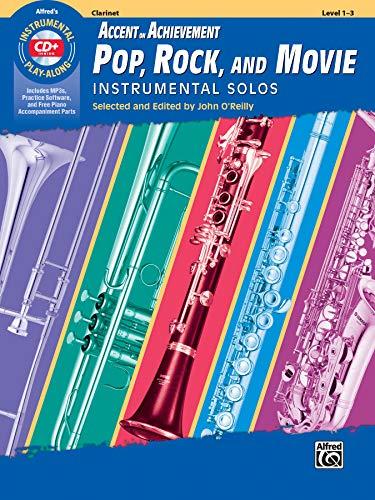 AOA Pop, Rock, and Movie Instrumental Solos: Clarinet, Book & CD (Instrumental Solos Series)