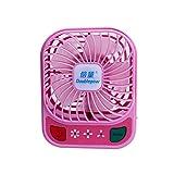 Usb mini Ventilator u Ventilator student Hostels laden tragbaren kleinen Ventilator, pink, 4 Zoll