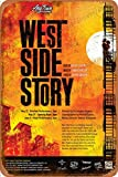 West Side Story 1961 Poster Retro Zinnschild Poster