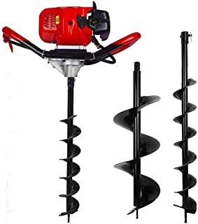 FISTERS 2.5HP Gas Powered Post Hole Digger with 6