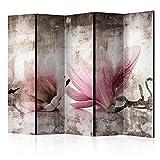 murando Biombo Flores Magnolias 225x172 cm de Impresion Unilateral en el...
