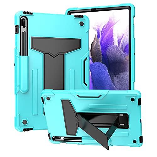 HHF Pad accesorios Para Samsung Galaxy Tab S7 FE 12.4 T730 T735, Silicona ORDENADOR PERSONAL Funda protectora protectora de la tableta anti-caída y a prueba de golpes para Samsung Galaxy Tab S7 FE 12.