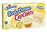 New! Limited Edition Hostess Iced Lemon Cup Cakes Each Package Contains 8 Individually Wrapped Snack Cakes Perfect for Lunch Boxes or as an On The Go Snack Only Available For A Limited Time so Grab Some Today!