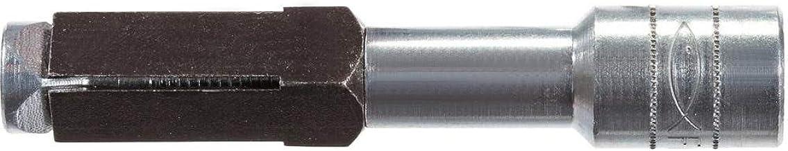 Fischer Poriënbetonanker FPX M6 I, verzinkte stalen ankers (25 stuks) voor bevestiging van leuningen, keukenarmaturen en v...