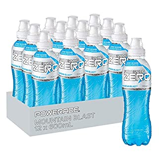 Powerade ION4 Mountain Blast Zero Sports Drink, 12 x 600 ml (B07PZZS1HW) | Amazon price tracker / tracking, Amazon price history charts, Amazon price watches, Amazon price drop alerts