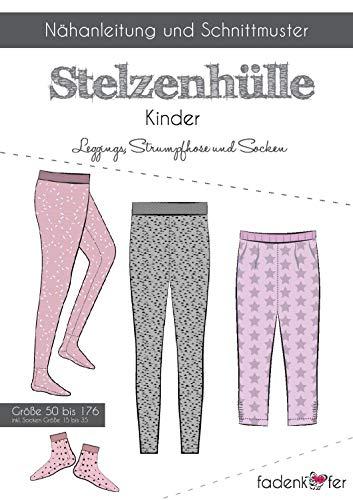 Knippatroon en naai-instructies - dames leggings panty sokken
