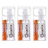 Tre Detergenti Per La Pulizia Degli Occhiali Da 60ml Con Tre Panni in Microfibra Occhiali e Kit Di Pulizia Delle Lenti - Facilissimo Da Usare