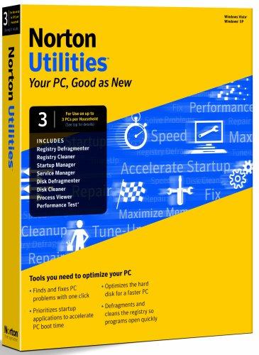 Norton Utilities 14.0 - 1 User 3 Computer (PC CD) [Import UK]