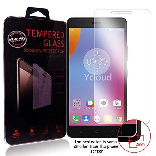 Ycloud Panzerglas Folie Schutzfolie Bildschirmschutzfolie für Lenovo K6 Note (5.5 Zoll) screen protector mit Festigkeitgrad 9H, 0,26mm Ultra-Dünn, Abger&ete Kanten