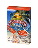 Margaritaville Singles To Go Water Drink Mix - Margarita Flavored, Non-Alcoholic Powder Sticks (Strawberry Daiquiri, Pack - 3)