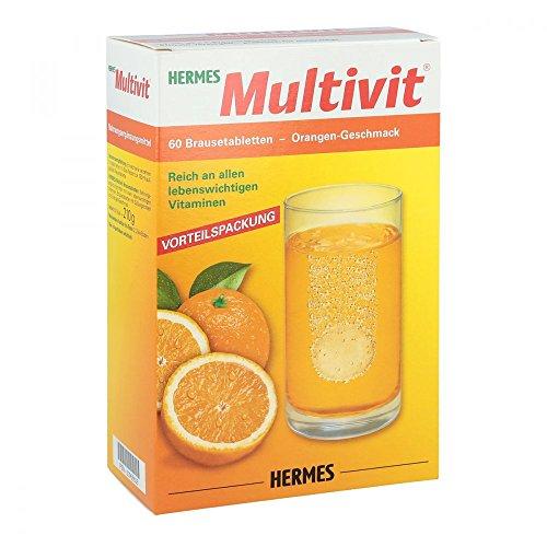 Hermes Multivit Brausetabletten Orangen-Geschmack, 60 St