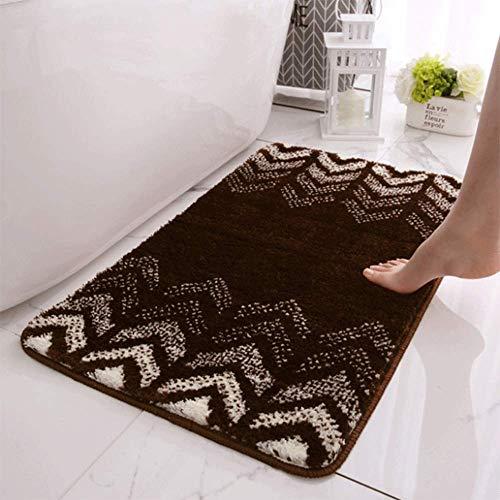 LHJY 40x60cm Ultraabsorbierende Indoor-Fußmatten, rutschfeste Gummi-Boden-Badematte, Für Haustür Badezimmer Küche Waschküche Einstiegsdekor (Support-Anpassung)(Size:40x60cm(15.7x23.6in),Color:A4)